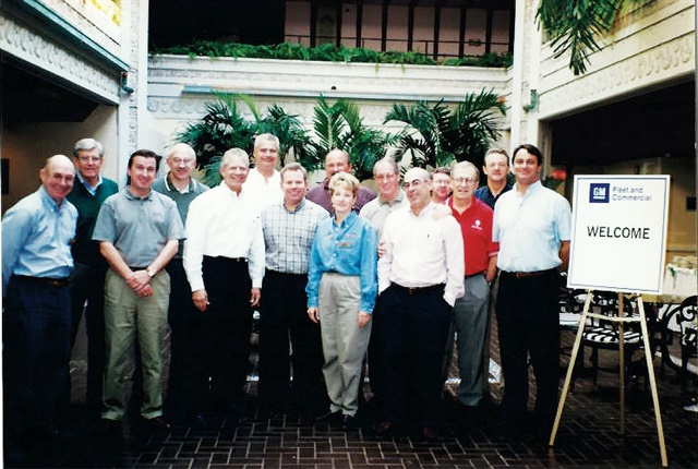In 1999, General Motors named Steve Higgs (far right) to the newly created position of manager, global & North American fleet development and commenced expanding the internal structure to respond to multinational fleet needs in major markets around the world. In 1999, General Motors created a global fleet advisory board among its clients that operated multinational fleets to help implement a global communication system and processes.