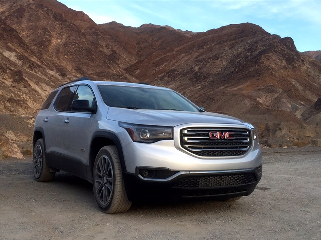 2017 gmc acadia slt 1 awd driving notes automotive fleet. Black Bedroom Furniture Sets. Home Design Ideas