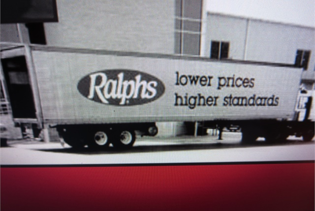 pFor many years, Ralphs rigs have carried all manner of foodstuffs to the chain's stores throughout southern California. It'snow owned by Kroger. Imageem: Ralphs Grocery Co./em/p