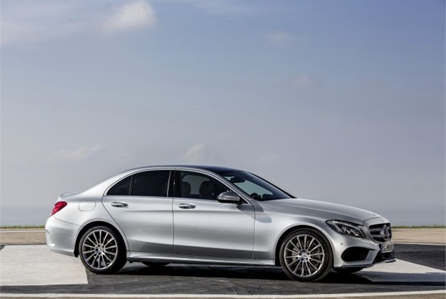 Photo of 2015 C-Class courtesy of MBUSA.