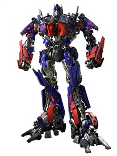 The live action incarnation of Optimus Prime in the 2007 film Transformers, rendered by Industrial Light & Magic, according to Wikipedia.