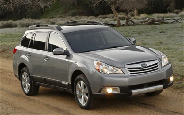 <p></p> <p>The Subaru Outback was been named 2010 Sport/Utility of the Year by <em>Motor  Trend </em>magazine. The Outback's victory follows the Subaru Forester's win for  the 2009 award, making Subaru the first automaker to win two consecutive  <em>Motor Trend </em>Sport/Utility of the Year awards.</p> <p></p>