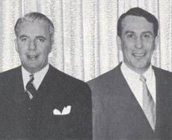 Zollie Frank (left) and Armund Schoen (right), founders of Wheels, Inc.