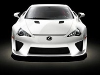 Lexus to Debut LFA Supercar at Auto Shows