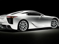 Lexus LFA Supercar to Make North American Debut at 2009 SEMA and Los Angeles International Auto Shows