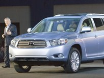 Toyota Launches 2008 Highlander and Highlander Hybrid at the 2007 Chicago Auto Show