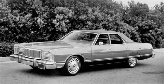 The Mercury Grand Marquis was first introduced in 1975.