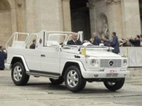 Open-Top Popemobile: Mercedes Delivers G-Class to Vatican