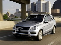 Mercedes 2012-MY M-Class Features Diesel and Gasoline Models