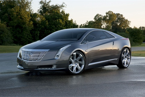 The photos shown here are of the concept unveiled in 2011. The automaker hasn't released official photos of the ELR yet.