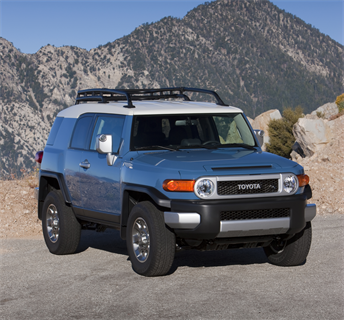 The FJ Cruiser carries over virtually unchanged for 2012. It will have an MSRP ranging from $25,990 for the 4x2 equipped with a five-speed automatic transmission to $27,580 for the 4x4 V6 automatic reflecting an increase of $200, or 0.7 percent.