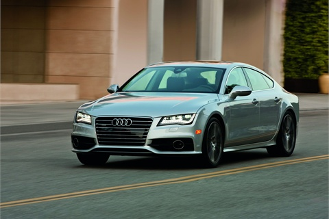 The 2012-MY Audi A7.