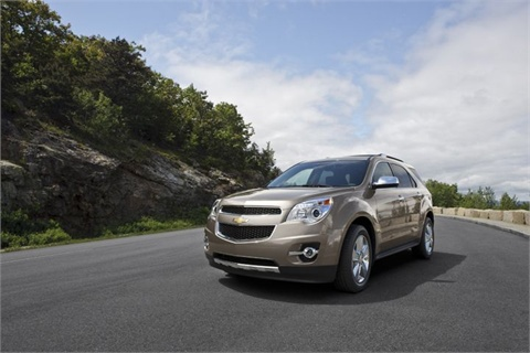 The 2012-MY Chevrolet Equinox.