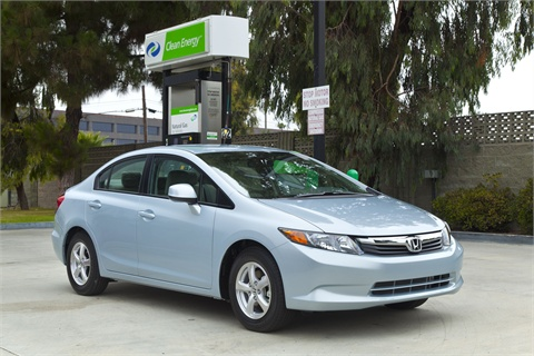 The 2012-MY Civic Natural Gas. Formerly the Civic GX.