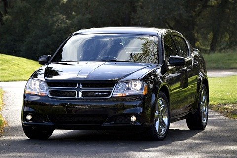 The 2012 Dodge Avenger.