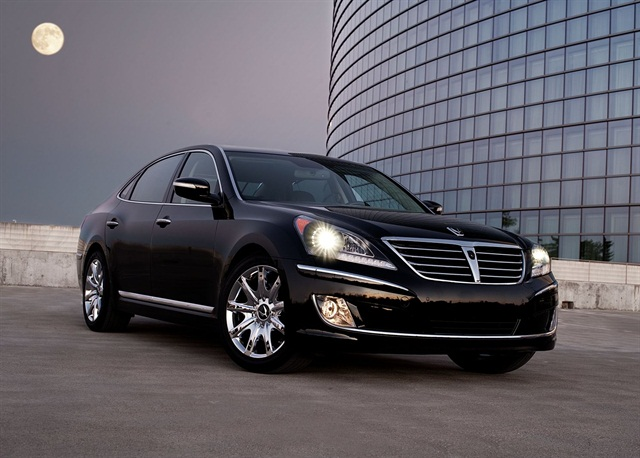 THe 2012 Hyundai Equus.