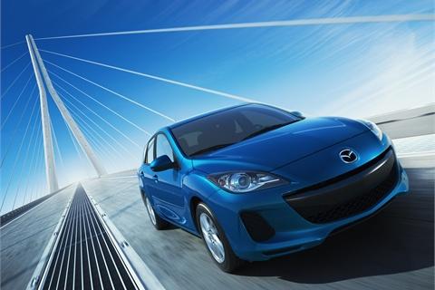 The 2012-MY Mazda3.