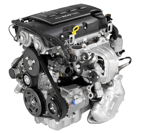 GM's turbocharged Ecotec 1.4L engine.