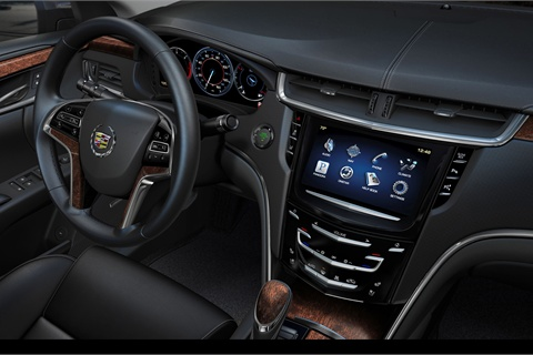 The XTS will launch with Cadillac's new CUE system.