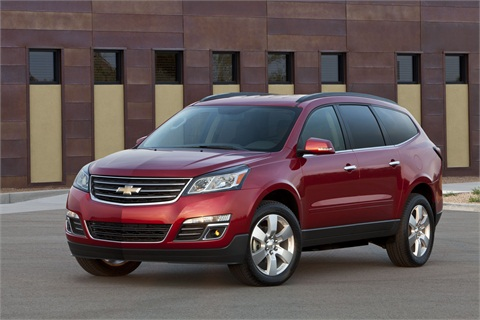 The 2013-MY Chevrolet Traverse.