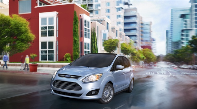 The 2013 Ford C-MAX Energi plug-in hybrid.