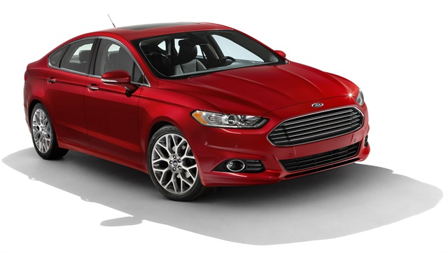 The all-new 2013-MY Ford Fusion.