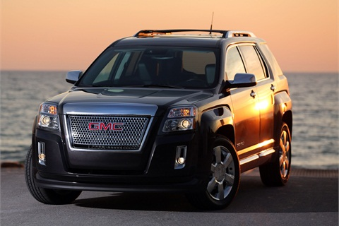 Gm Sets Retail Pricing For My Gmc Terrain Denali Suv Top