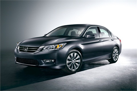 The 2013 Honda Accord Sedan Touring edition.