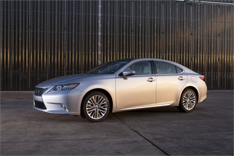 The 2013-MY Lexus ES 350.