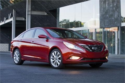 The 2013-MY Sonata. Photo courtesy Hyundai.