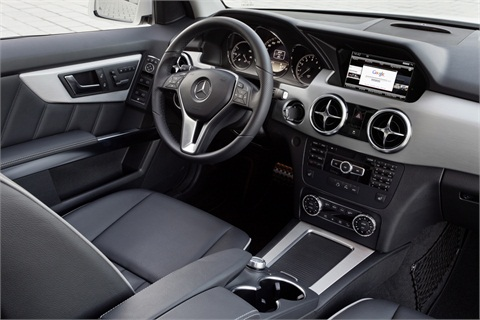 In terms of upholstery options, Mercedes is offering new upholstery colors and seat designs in a range of MB-Tex and leather.