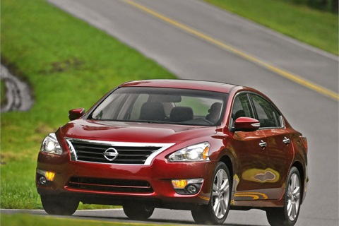 The 2013-MY Nissan Altima. Photo courtesy Nissan.