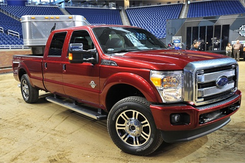Ford engineers have raised conventional towing capacity to 18,500 lbs. and improved payload capability to 7,260 lbs.