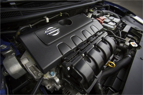Nissan added an all-new 1.8L DOHC four-cylinder engine matched with a new-generation Xtronic CVT transmission for MY-2013.
