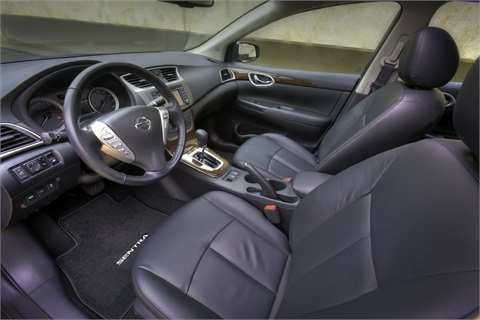 Inside, the Sentra offers more room and a more sophisticated interior, according to the automaker.