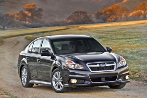 The Subaru Legacy sedan. Photo courtesy Subaru.