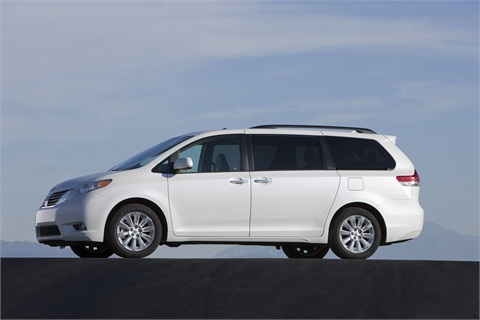 The 2013-MY Toyota Sienna.
