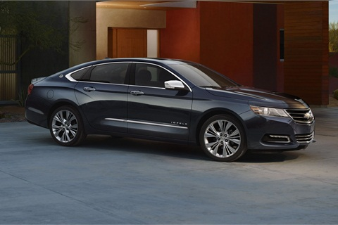 The all-new 2014 Chevrolet Impala.