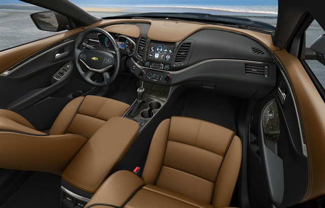 gm unveils all-new 2014-my chevrolet impala in new york - top news - vehicle research