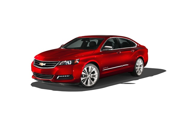 The 2014 Chevrolet Impala.