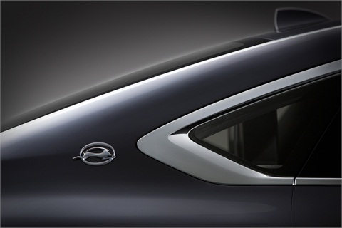 A teaser image from GM of the all-new 2014 Chevrolet Impala.