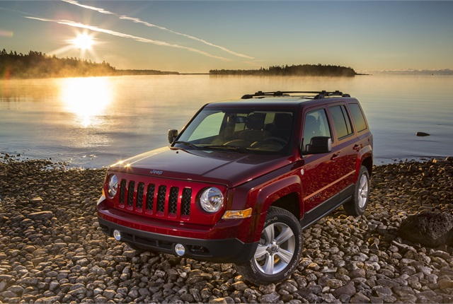The 2014-MY Jeep Patriot. Photo courtesy Chrysler Group.