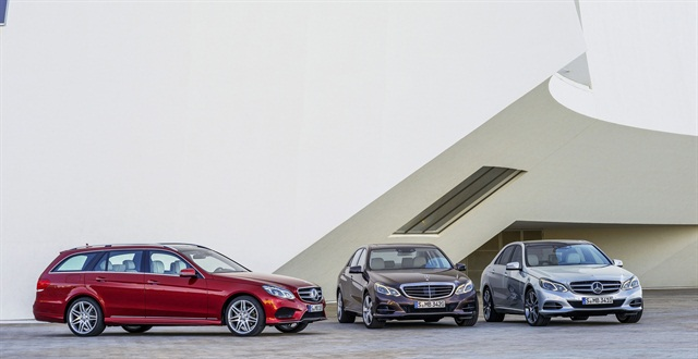 The updated 2014-MY Mercedes-Benz E-Class models will be available in spring of 2013, according to the automaker.