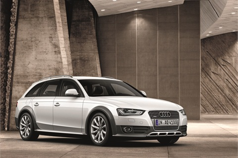 The new A4 wagon is called the allroad quattro.