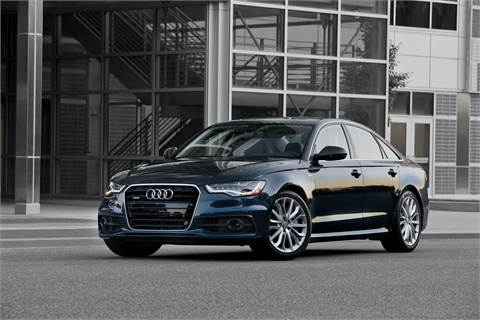 The Audi A6.