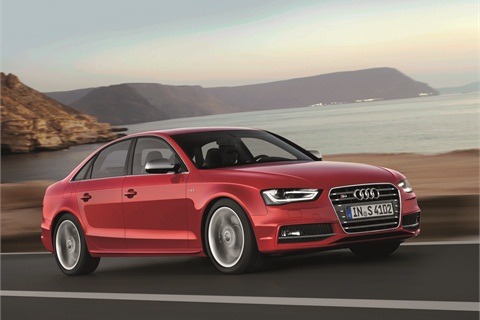 The 2013-MY Audi S4.