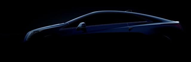 The 2014-MY Cadillac ELR.