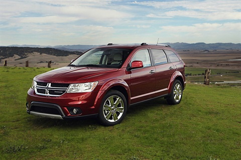 The 2012 Dodge Journey.