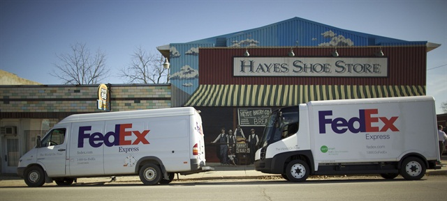 FedEx stated that by the end of 2013, it will have more than 11,000 more fuel-efficient Sprinter vans in service.