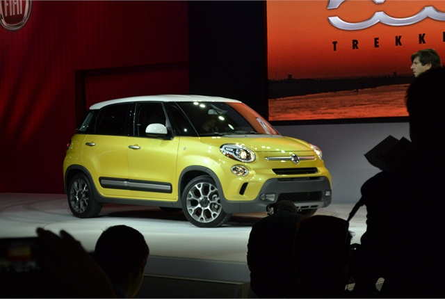 The Fiat 500L Trekking edition.